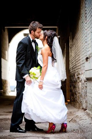 Sneak Peek: Janelle & Barrett's Wedding