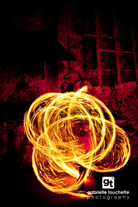 Fire Spinning Photo Shoot: Sneak Peek!