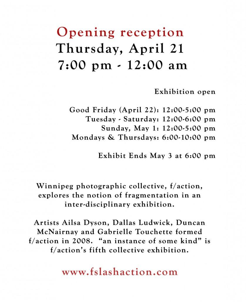 Photo Exhibit: fragmented portraits