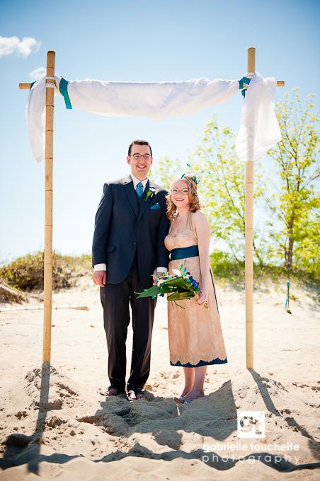 Summer Beach Wedding: Sneak Peek!