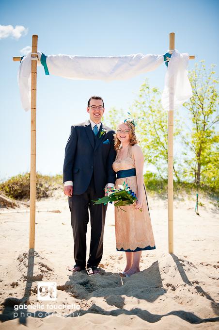 Lisa & Neil: Manitoba Beach Wedding
