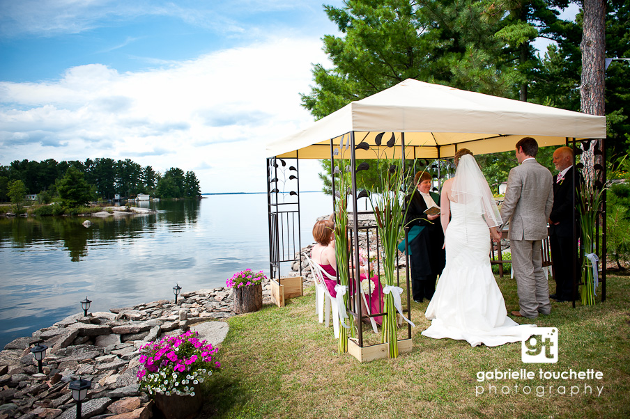 joanne + sam: married at the lake