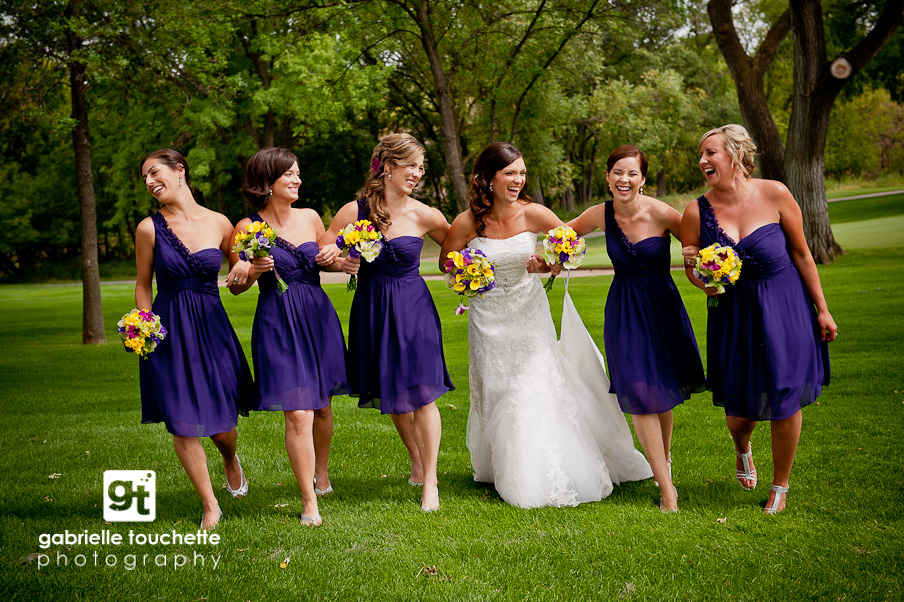 laura + chris: wedding at st. charles country club
