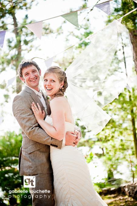 Joanne + Sam: Lake Wedding Sneak Peek