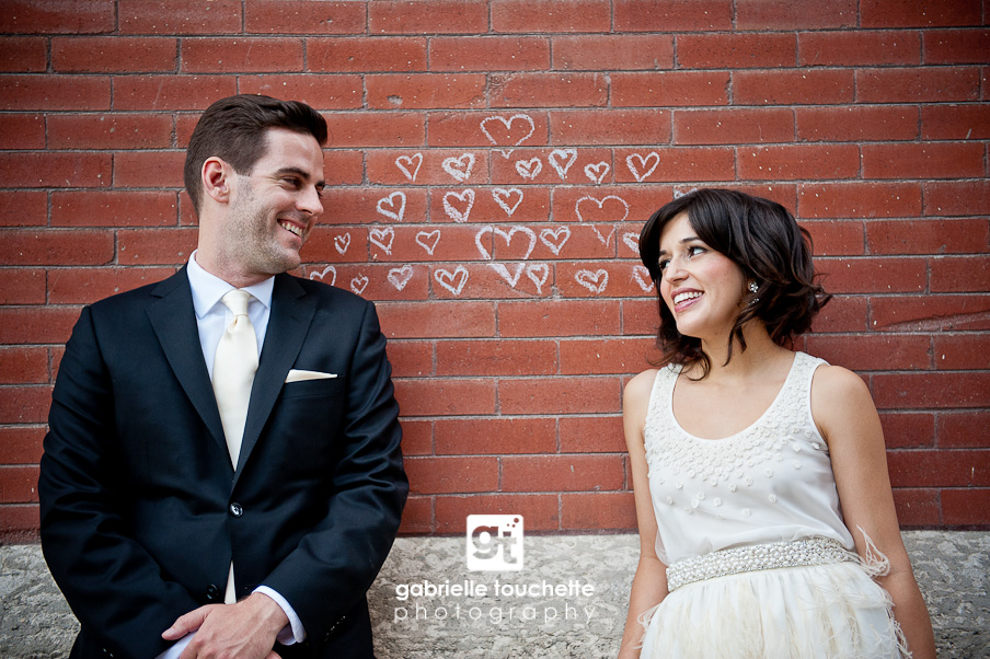 julie + sean: wedding at bergmann's – sneak peek