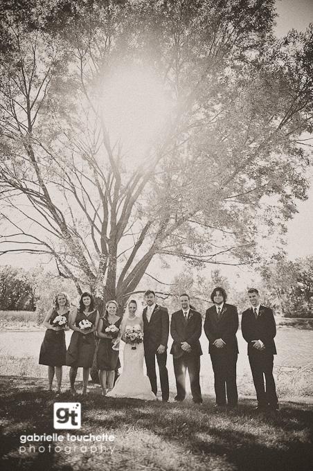 vintage edit: amber + matt: winnipeg wedding photography