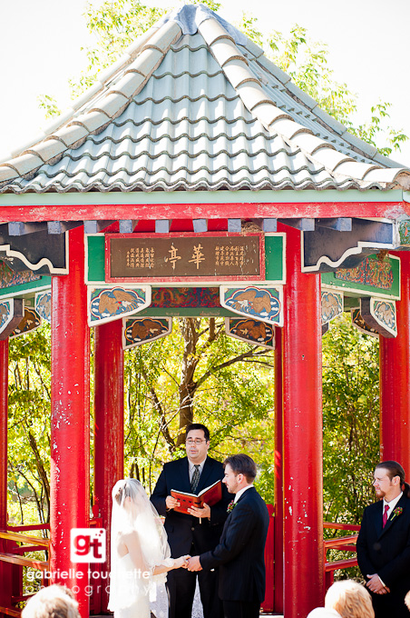 amber + matt: outdoor autumn wedding in winnipeg