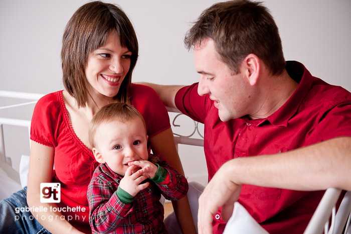 Roger at the studio: Family Portrait Photography in Winnipeg