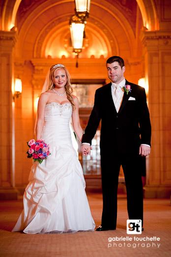 Wedding Photography at Winnipeg's Fort Garry Hotel
