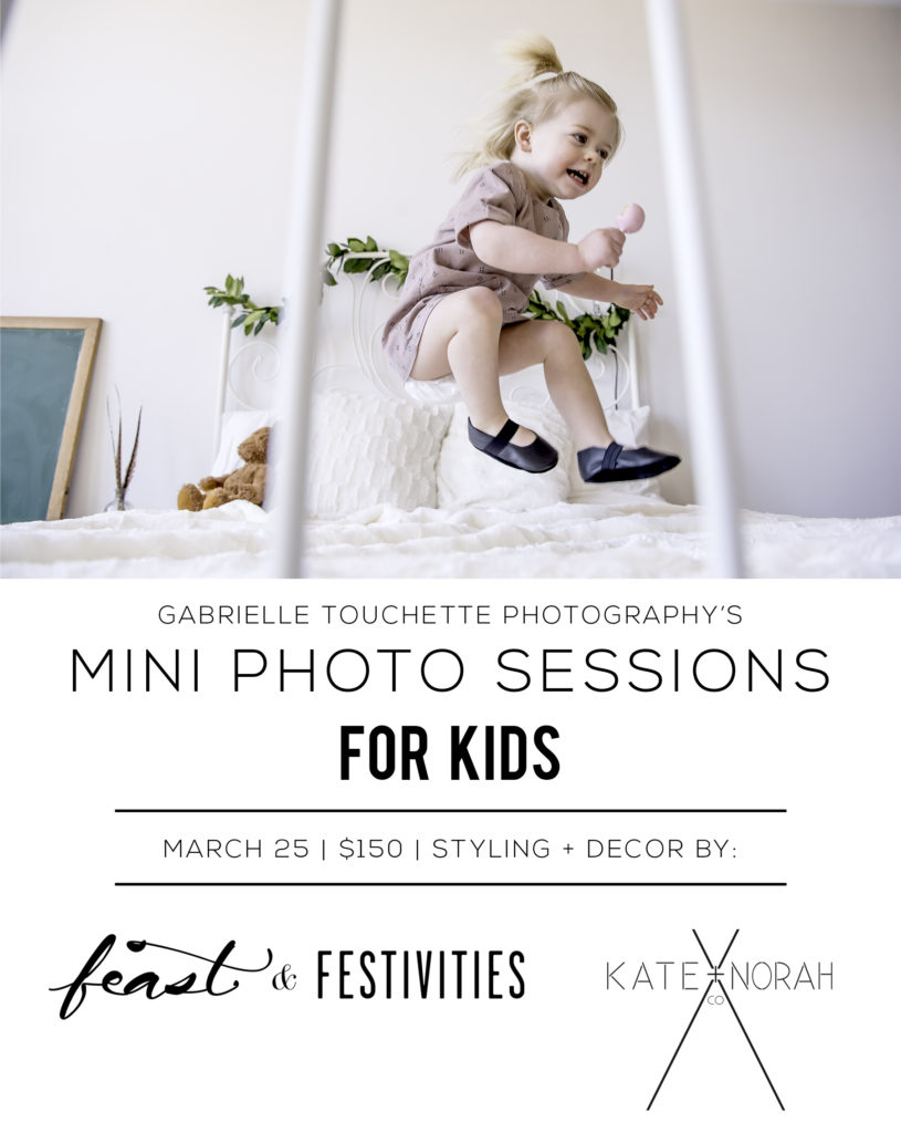 Winnipeg mini photo sessions for kids