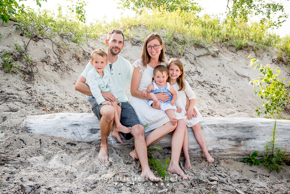 Klassen Family Photos at Grand Beach