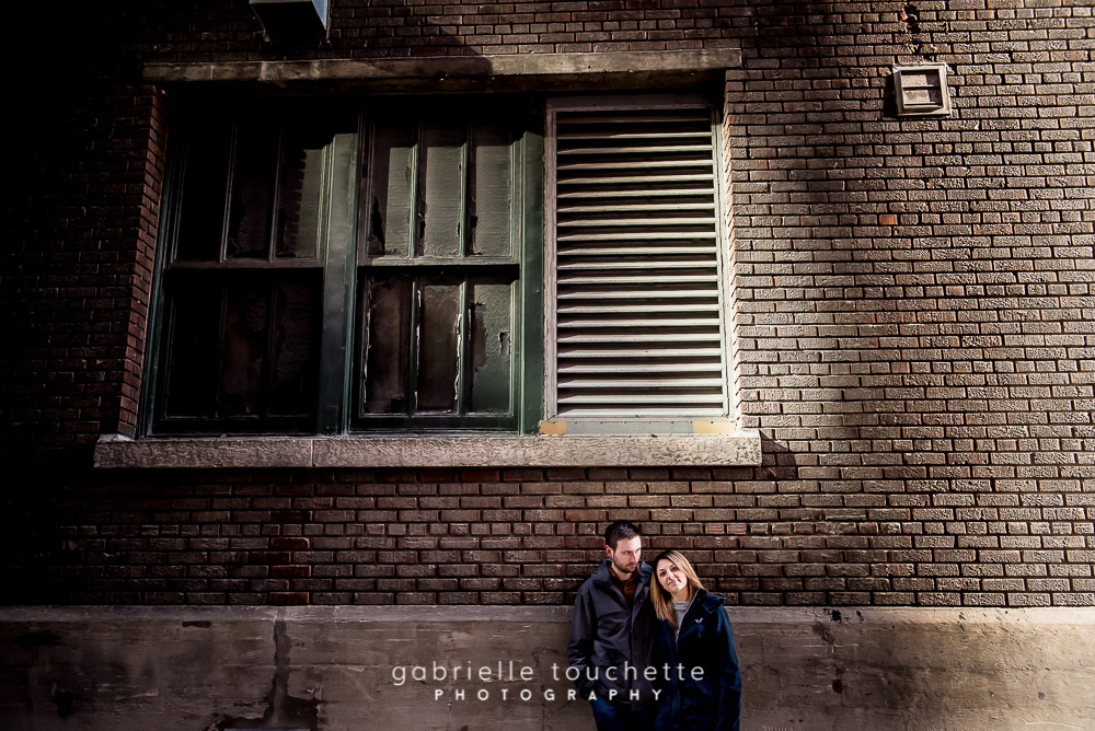 Aly & Mario – Engagement Photography in Winnipeg's Exchange District