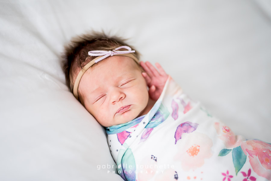 Sadie's At-Home Newborn Session