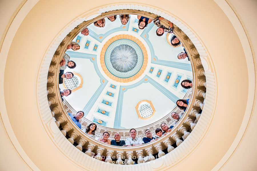 Multi-Family Photos at the Manitoba Legislative Building