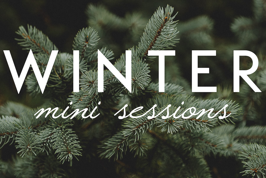 Styled Mini Photo Sessions for Kids – Winter Edition