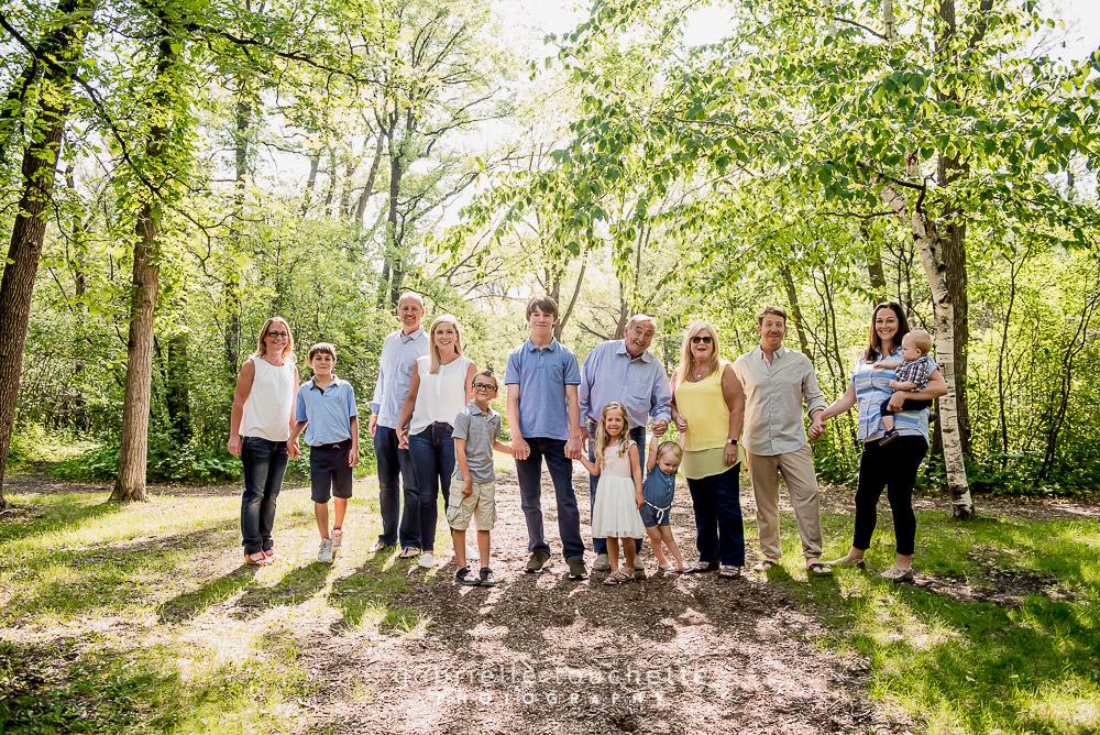 Multi-Family Photography at St. Vital Park, Winnipeg