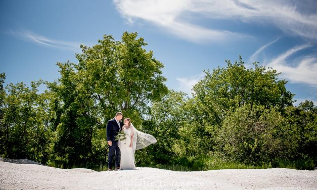 Danielle & Sven's Wedding at Stonewall Quarry Park, Manitoba