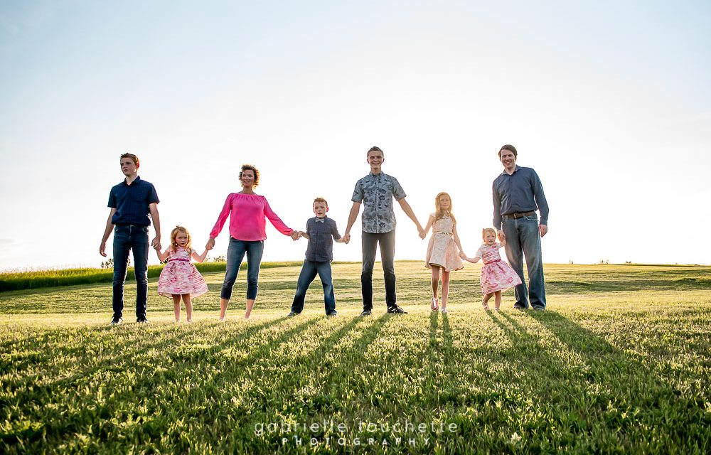 The Andersons: Winnipeg Family Photography