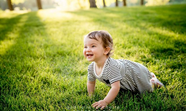 Annick: First Birthday Photo Session