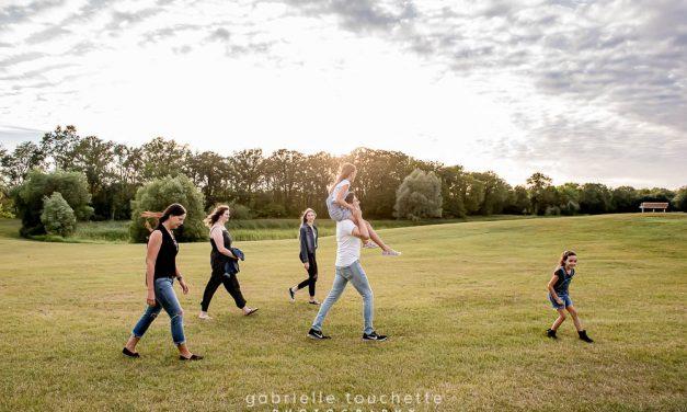 Blais Family Photos: King's Park, Winnipeg