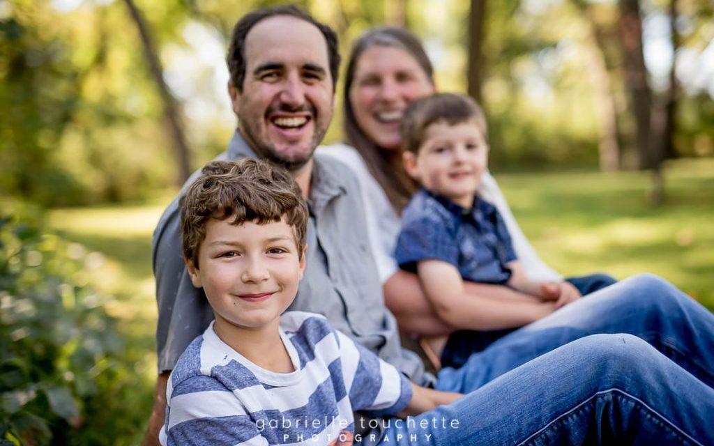 Winnipeg Family Photography at St. Vital Park
